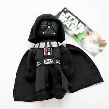 "Star Wars Character Darth Vader Original 7"" Stuff Plush Toy Soft Zipper Bag Clip"