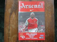 Arsenal v Middlesbrough - FA PL - Season 2000 - 01 (VGC)