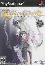 Shin Megami Tensei Digital Devil Saga 2 PlayStation 2 Brand New Factory Sealed