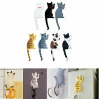 Creative Animal Fridge Hook Key Wall Crochet Holder Home Decor Viscose Hooks