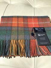 Johnstons of Elgin Antique Buchanan Tartan Pure Cashmere Scarf Scottish Warm