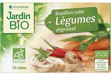 Jardin Bio - Bouillon Cube Légumes Dégraissé Sans Huile Palme 90G - Lot De 4