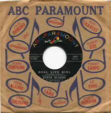 "STEVE ALAIMO ""Real Live Girl""/""need You"" ABC - Paramount 10620  NM"