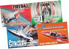 Gerry Anderson: Set 4 Basis Joe 90 Fireball Xl5 Stechrochen Supercar Unstoppable