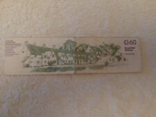 COTSWOLDS ARLINGTON ROW STAMP BOOKLET 1983 £1.60 WITH THREE 16P STAMPS
