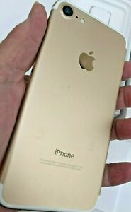 Barely Used APPLE iPhone 7 Locked Model A1660 GOLD Smartphone 32GB
