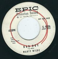 UK Rocker - Marty Wilde EPIC 9351 Bad boy / Teenage tears ♫