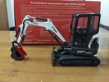 Rare Universal Hobbies Bobcat E27 With Cabin Compact Excavator 1/25 Scale UH8133