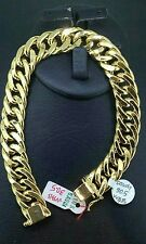 GoldNMore: 18K Gold Men's Bracelet