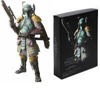 Star Wars Ronin Boba Fett Meisho Realization Samurai Figure Bandai Mandalorian