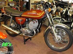 Kawasaki KH500 500 Triple, Bronze Decal set - The BEST!