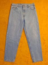 VINTAGE LEVIS ~ MENS 550 DENIM BLUE JEANS ~ Waist 34 ~ Inseam 29 ~ Length 40