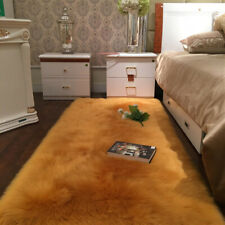 150x60cm Faux Soft Sheepskin Wool Fur Rug Shaggy Carpet Bedside Floor Mat