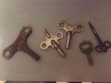 New listing Lot of 5 Vintage Clock Keys