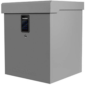 CleverMade Parcel LockBox S100 Series: Secure Package Delivery Box with Steel &