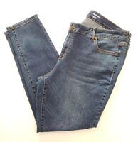 Sonoma Women's Skinny Stretch Blue Jeans  - Size 16W