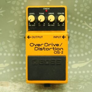 BOSS OS-2 OverDrive / Distortion Guitar effect pedal (UU22180)