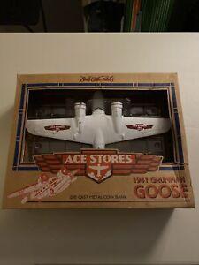 Ertl Ace Hardware 1941 Grumman Goose Die Cast Metal Bank     07507