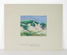California Landscape Painting Impressionism Bev Rowe Monte Rio Mid Century Vtg