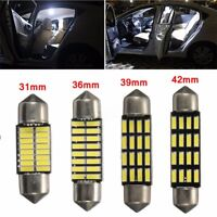31mm/36mm/39mm/42mm Canbus SMD LED Bombillas Luz Interior Coche Light Error