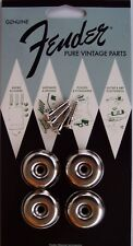 Genuine Fender PURE VINTAGE Sphinx Amplifier Glides Amp Feet / Legs 0993900000