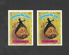 Topps UK Garbage Pail Kids GPK 3rd Series (1986) 2 variety cards of No 119b