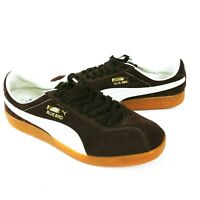 Puma Bluebird Trainers Shoes Mens UK 6 EU39 US 7 Vintage Retro Classic Brown