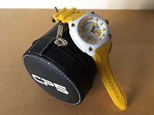New - Reloj Watch CP5 Simplicity & Originality - White and Yellow color - Quartz
