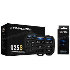 Compustar CS925-S 1-Way 1500-FT Remote Starter + BLADE-AL Bypass Module CS920-S