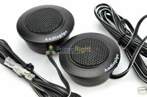 Audiopipe Surface Or Angle Mount Super High Frequency Tweeters 150 Watt APHET300