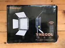 Yongnuo YN-600L 600 LED Studio Video Light 3200k-5500k x 2 Lamps ( USED)