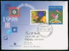 Mayfairstamps Argentina FDC 1988 Merry Christmas Combo Decorations First Day Cov