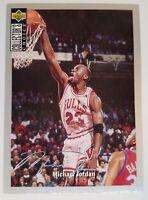 Rare: 1994 UD Michael Jordan Collector's Choice Silver Signature Card #240