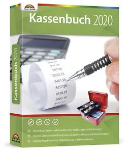 Kassenbuch 2020 -Rechnungen & Quittungen schnell erstellen & verwalten -DVD-ROM