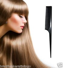 New Sally Pro Hairdressing Black Styling Tail Comb For All Hair Preparations