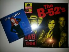 The B-52's and Kate Pierson Record Store Day lot of 2 2016+2018 LP NEW Sealed