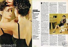 Coupure de Presse Clipping 1996 (4 pages) Anouk Grinberg
