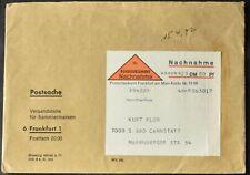 La Germania anni 1960 nachnahme Remboursement, contanti alla consegna Copertura #C55938