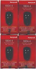 4 PK Honeywell Ademco 5834-4 Four-Button Wireless Key Remotes