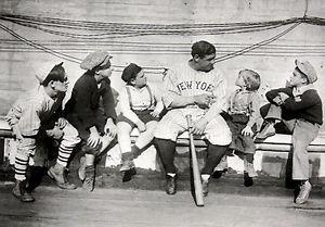 Babe Tells His Story Novelty Sports Baseball Babe Ruth Print Poster 16x20