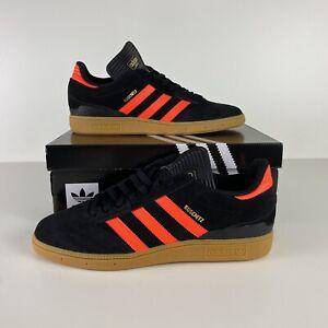 adidas Originals Mens Busenitz Size 11 Skateboarding Shoes Black Red EG2478 New