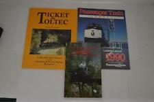 Lot of 3 Railroad Books