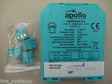 55000-803 APO APOLLO xp95 guida DIN Input Output unità * IVA INCLUSA *