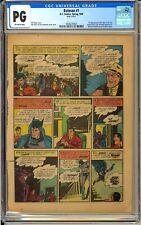Batman #1 (Page 4 Only) 1st App. The Joker Classic Golden Age DC Comic CGC 1940