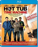 HOT TUB TIME MACHINE BLU RAY UNRATED VERSION Movie-Brand New (HMV-268 / HMV-45)