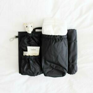 "ToteSavvy Mini Diaper Bag Organizer Insert (9.5x9"") - Changing Mat Included"
