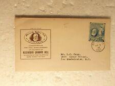 1947 #274 Alexander Graham Bell FDC, JCR Cachet, Brantford Ont CDS
