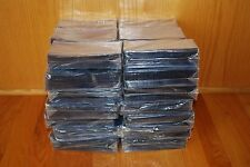 100 STANDARD SEMI-RIGID PLASTIC CURRENCY HOLDERS. Lot SSA