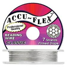 Accu-Flex Clear .024in  7Strand  30 Feet Beading Wire
