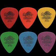 12 DUNLOP Tortex Standard Plettri per chitarra qualunque combinazione-Scegli la tua taglia